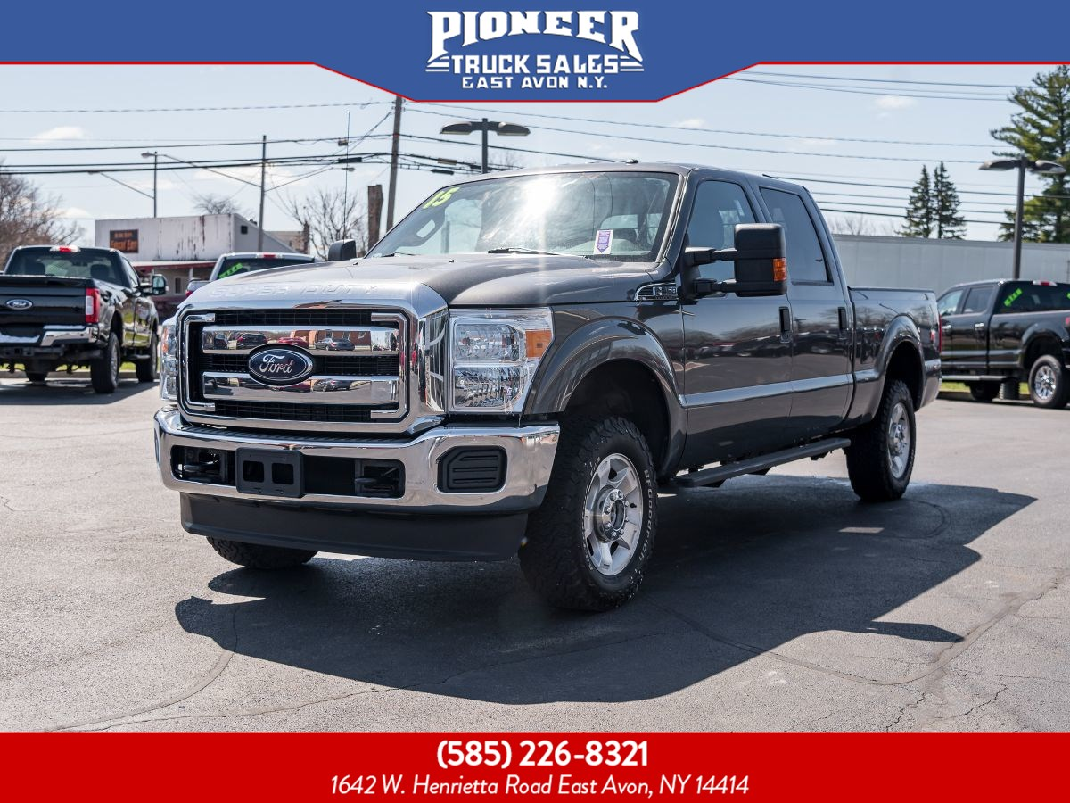 2015 Ford Super Duty F-250 SRW XLT