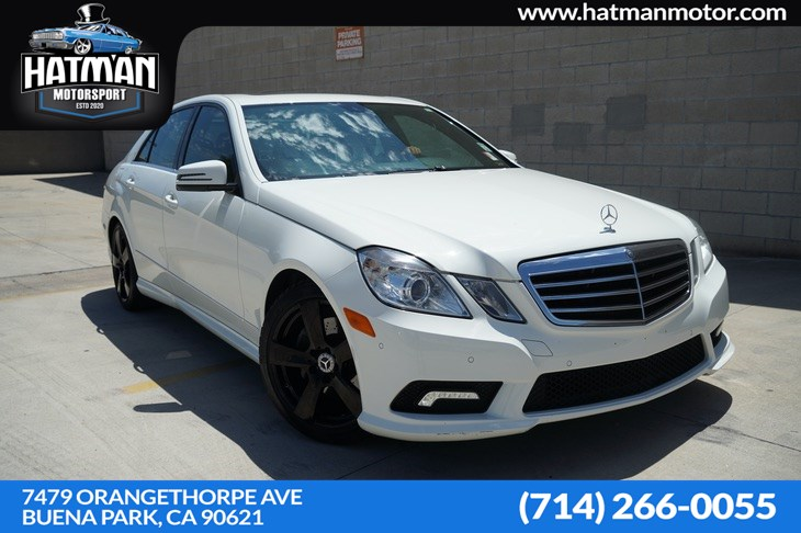 2011 Mercedes-Benz E 350 Luxury Sedan