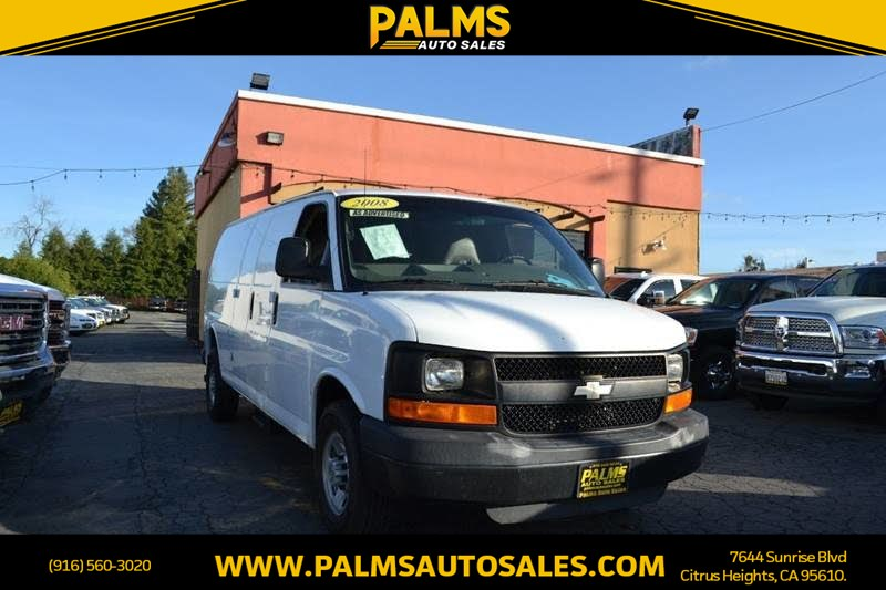 2008 Chevrolet Express Cargo Van 3500 Extended Cab