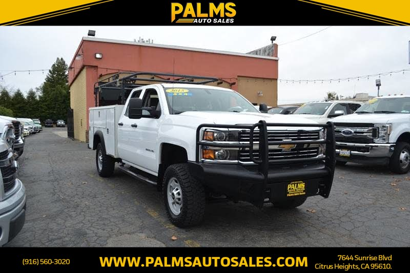 2015 Chevrolet Silverado 2500HD 4x4 Work Truck