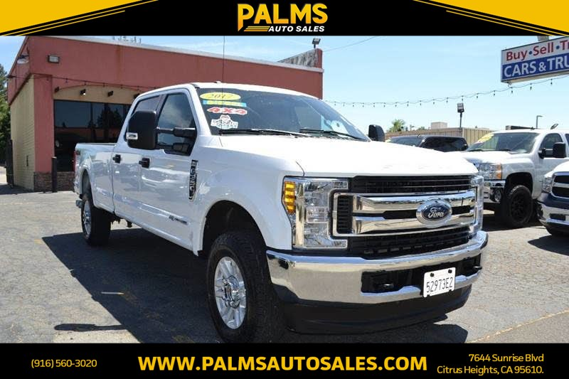 2017 Ford Super Duty F-350 4x4 SRW XLT