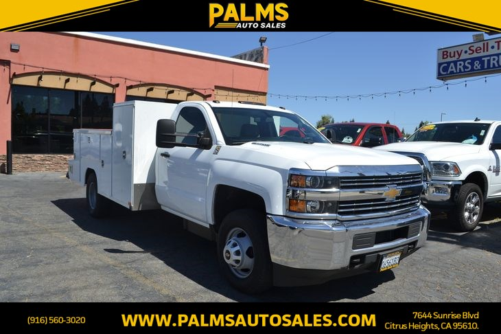2015 Chevrolet Silverado 3500HD Built After Aug 14 Dually Work Truck