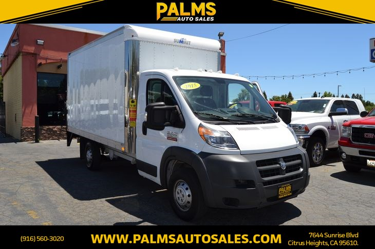 2015 Ram 3500 ProMaster 3500 159 WB 2dr Extended Chassis Box truck