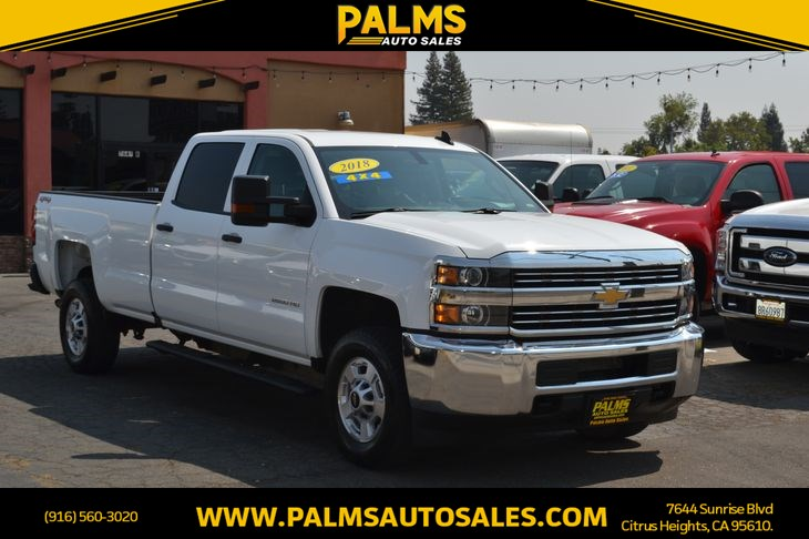 2018 Chevrolet Silverado 2500HD Work Truck 4x4