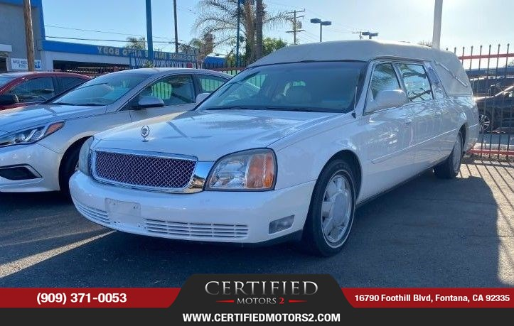 2001 Cadillac Deville Professional Funeral Coach