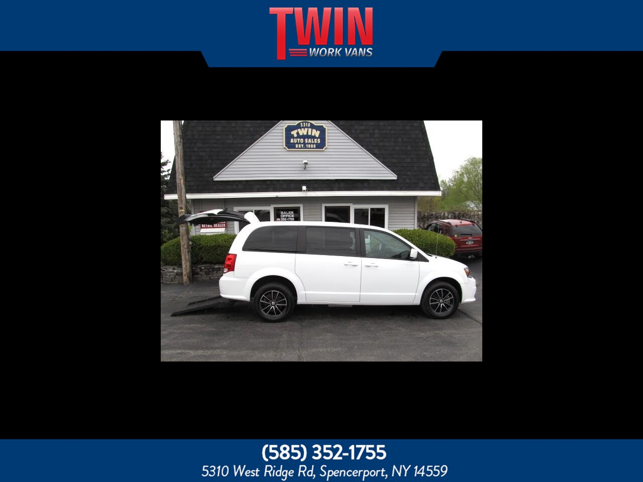 Used 2018 Dodge Grand Caravan Gt In Spencerport