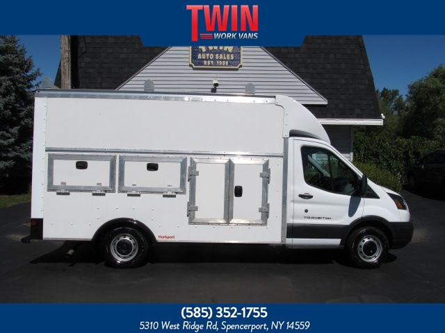 2015 Ford Transit Cutaway Enclosed Utility