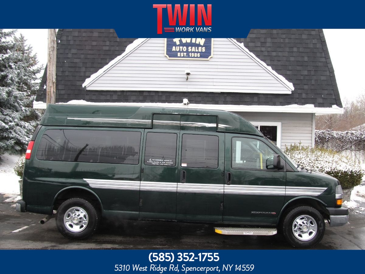 2013 Chevrolet Express Passenger ,WHEELCHAIR VAN LT,WHEELCHAIR VAN
