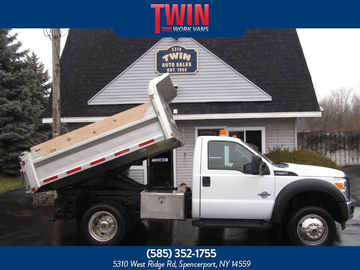 2011 Ford Super Duty F-550 DRW XL STAINLESS STEEL DUMP BODY