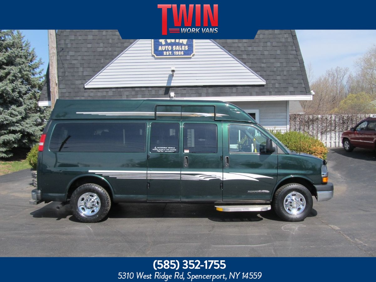 2013 Chevrolet Express WHEELCHAIR VAN LT WHEELCHAIR VAN