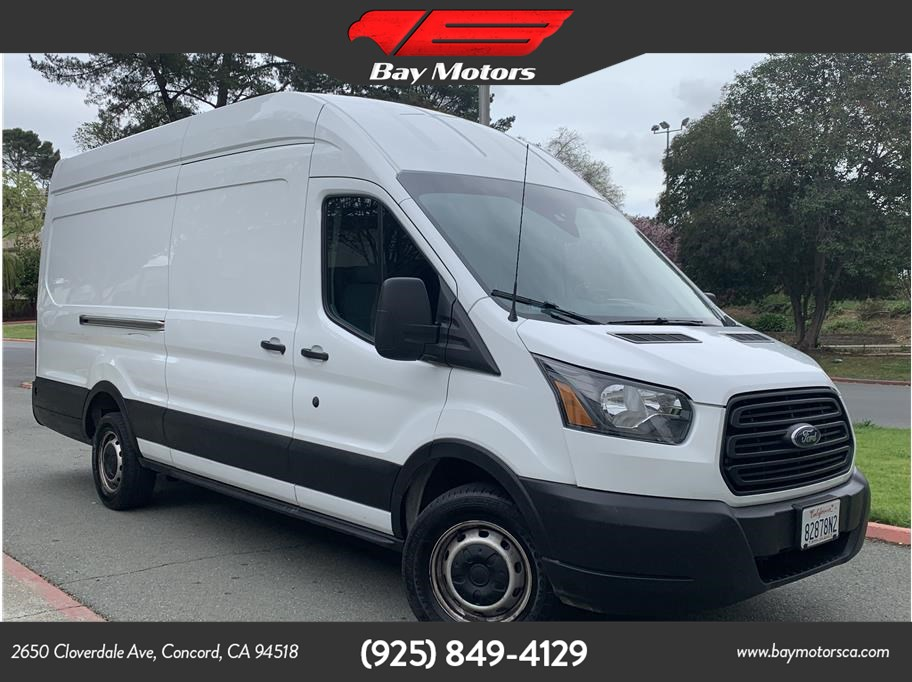 2019 Ford Transit 250 Van Extended Length High Roof w/Sliding Side Door