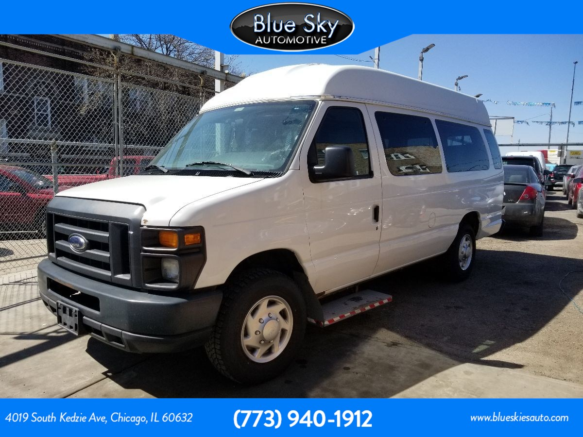 2012 Ford Econoline Cargo Van Recreational
