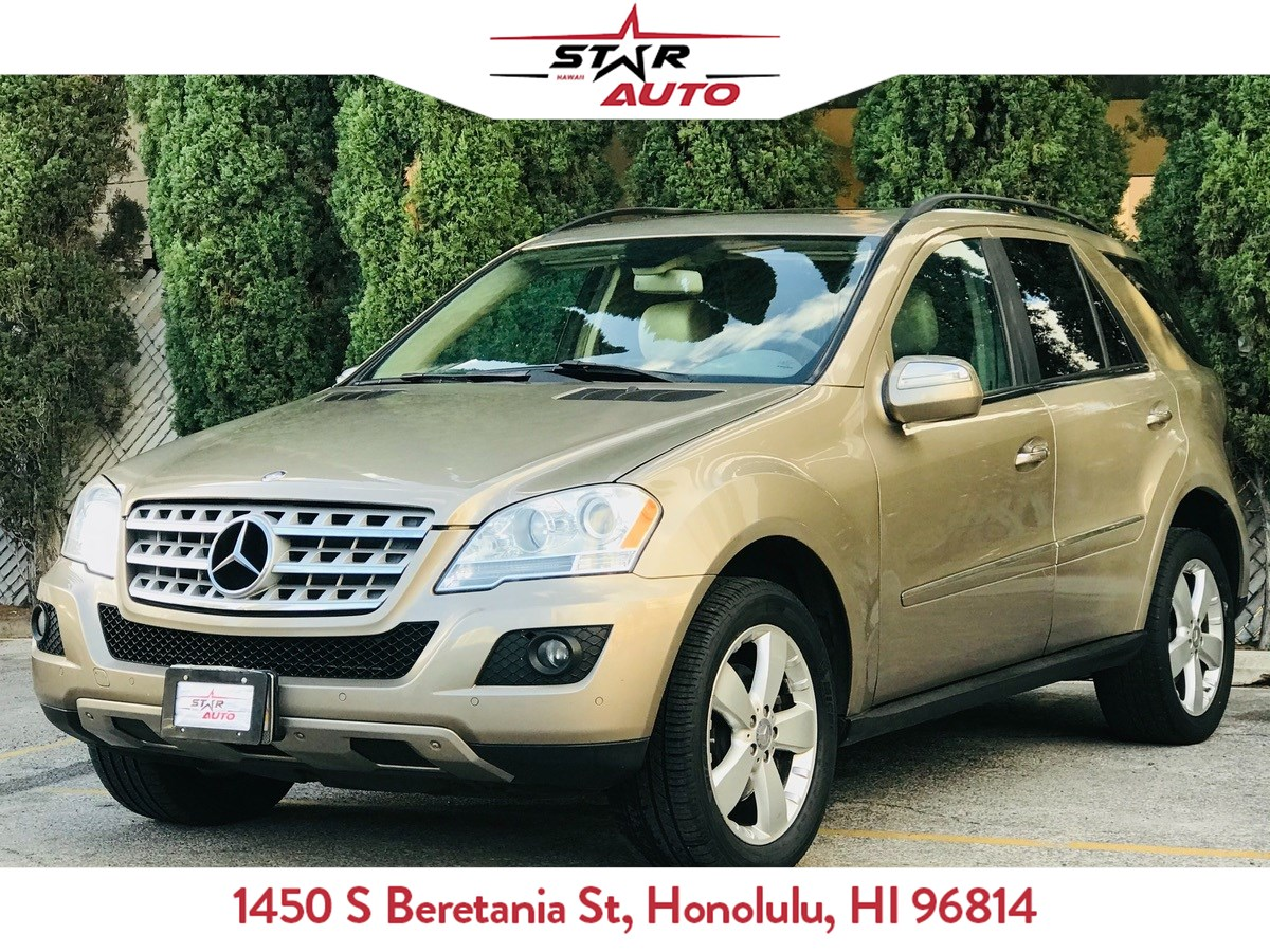 2009 Mercedes-Benz ML350 ML 350 4MATIC