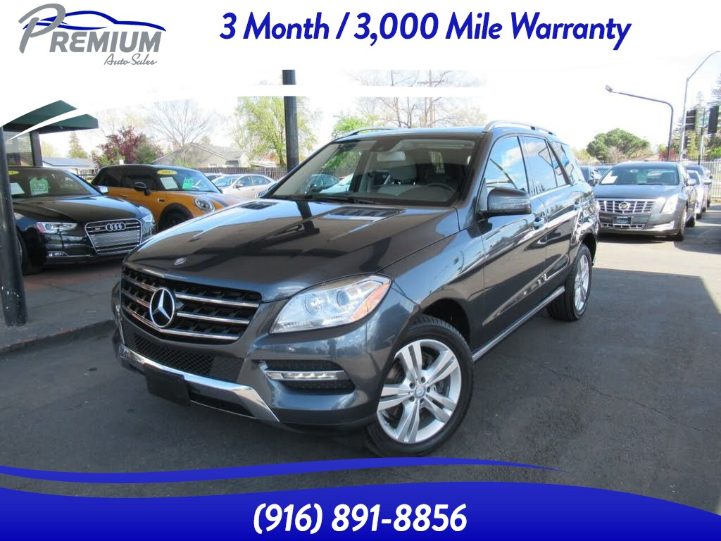 2014 Mercedes-Benz ML 350 FULLY LOADED-EXTRA CLEAN-MUST SEE