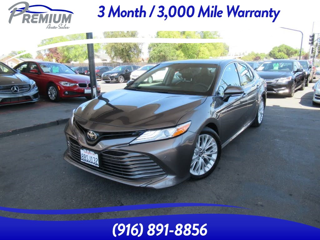 2018 Toyota Camry FULLY LOADED-UNDER WARRANTY-EXTRA CLEAN