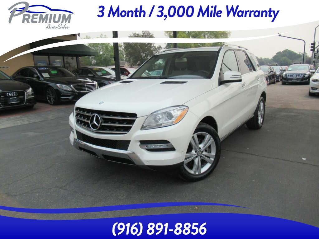2014 Mercedes-Benz ML 350 BlueTEC SUV-DIESEL-4WD-FULLY LOADED