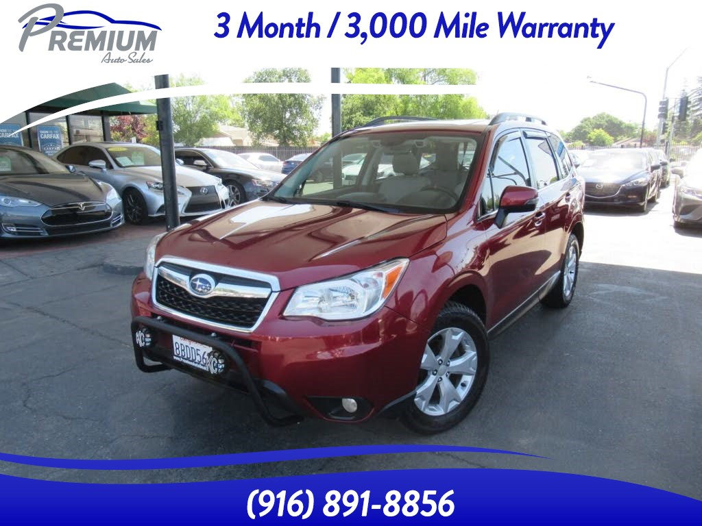 2014 Subaru Forester 2.5i Touring-FULLY LOADED-WELL MAINTAINED