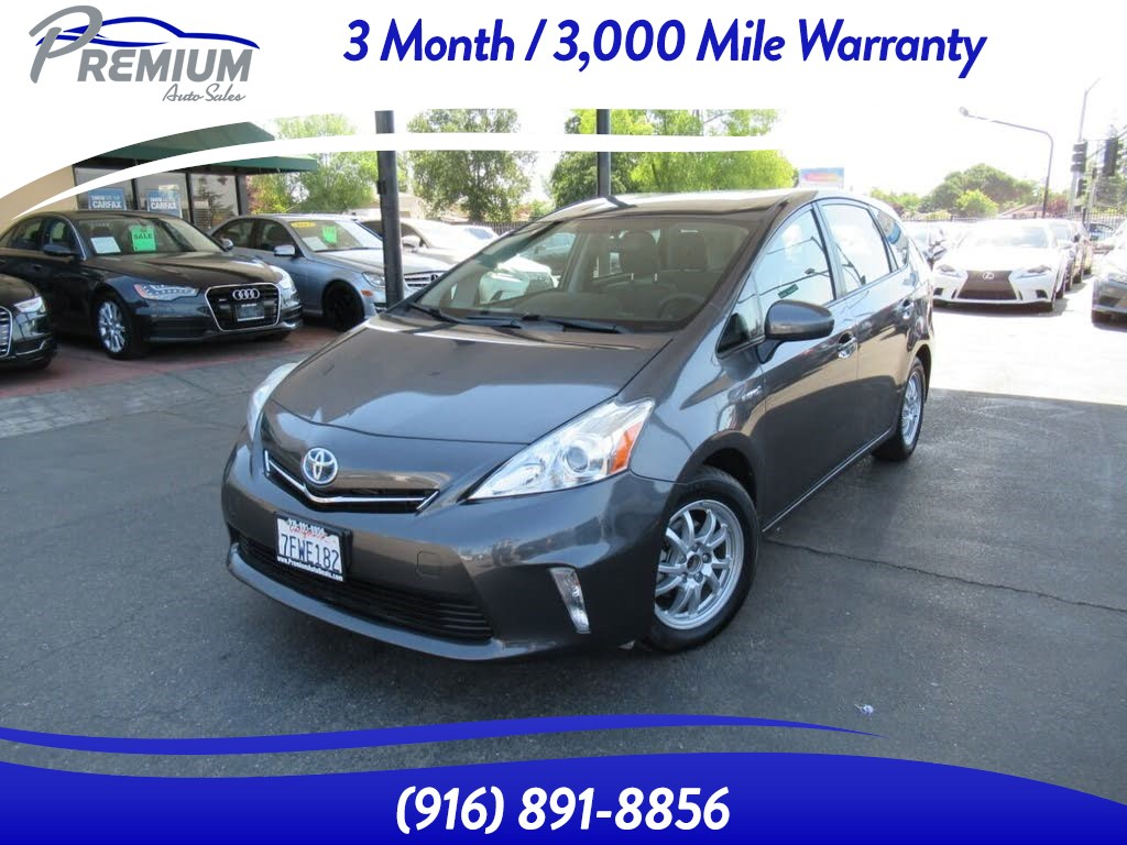 2014 Toyota Prius v THREE-BACK UP CAMERA-LOW MILES-1 OWNER