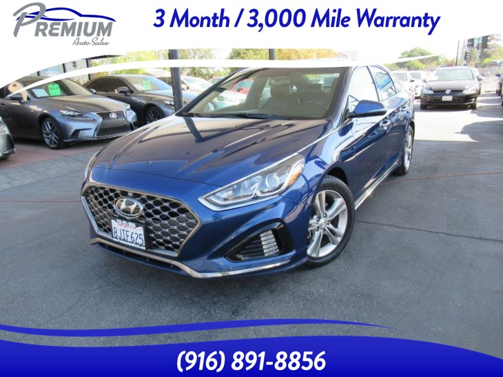 2018 Hyundai Sonata-LEATHER SEATS-SUNROOF-1 OWNER- EXTRA CLEAN Sport