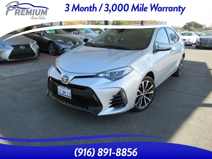 2017 Toyota Corolla XSE-NAVI-BACKUP CAMERA-SUNROOF LEATHER SEATS