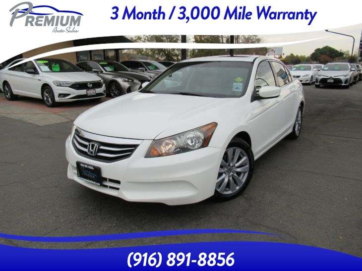 2011 Honda Accord Sdn EX-L-NAVI-BACKUP CAMERA -LEATHER SEATS-SUNROOF