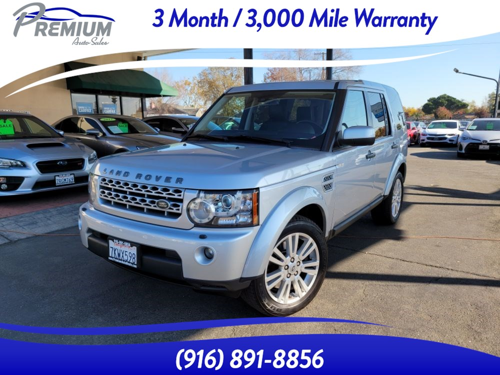 2011 Land Rover LR4 HSE-3RD ROW-FULLY LOADED- 27 SERVICE RECORDS-