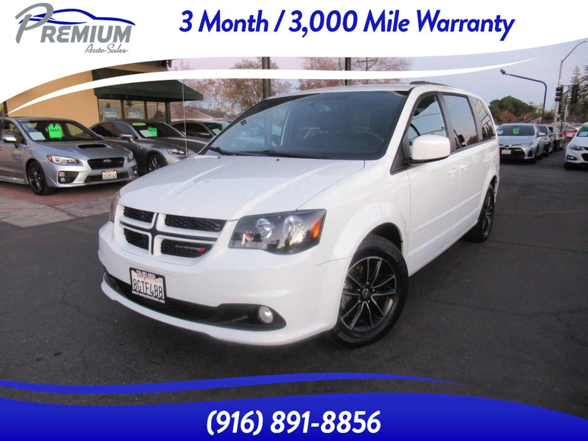 2017 Dodge Grand Caravan GT-NAVI BACKUP CAMERA-HEATED SEATS-POWER DOORS
