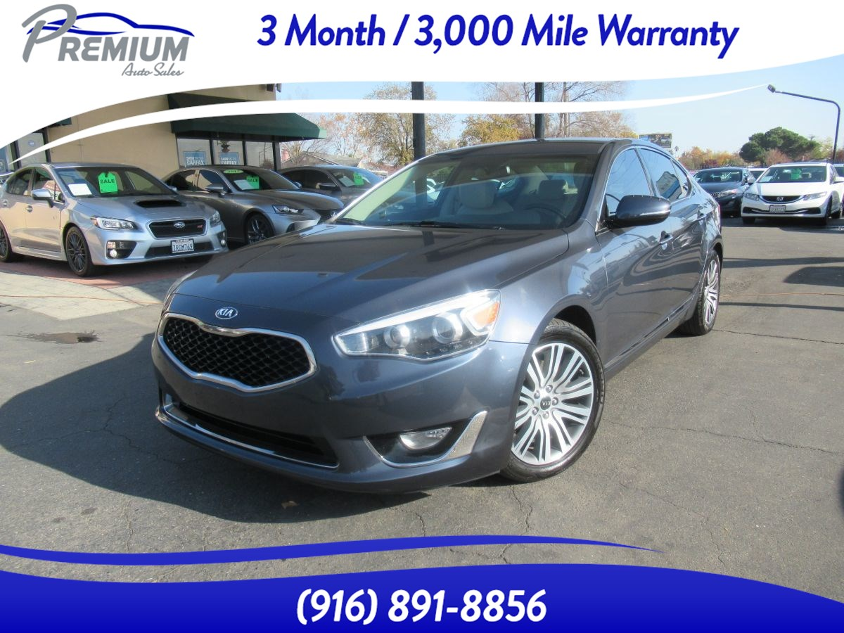 2014 Kia Cadenza Premium-LEATHER SEATS-NAVI BACKUP CAMERA