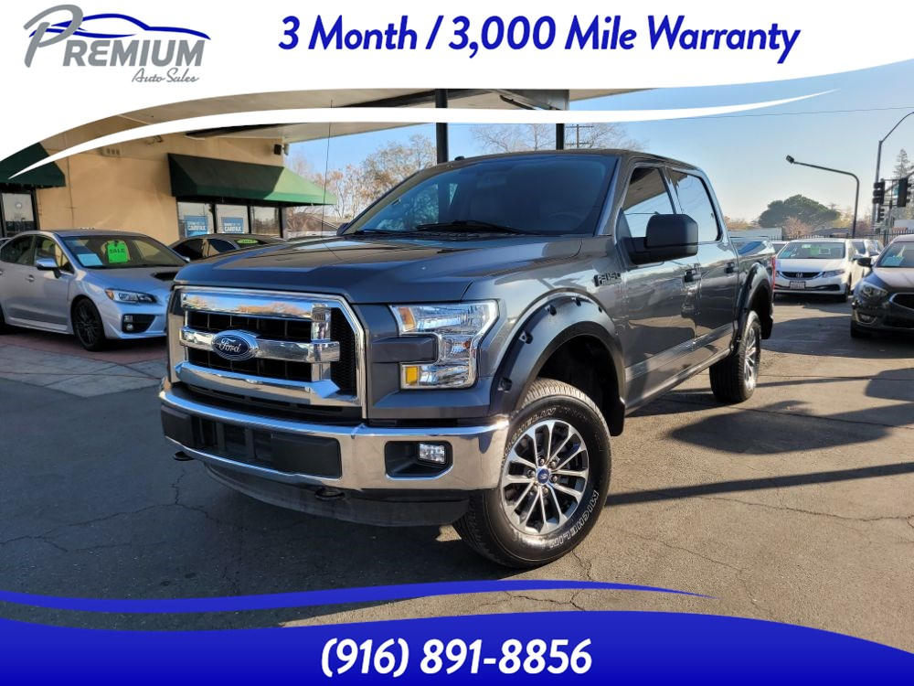 2016 Ford F-150 XLT-4WD-CREW CAB-TOW PACKAGE-EXTRA CLEAN