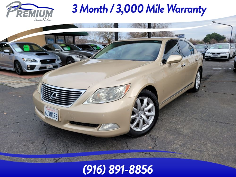 2009 Lexus LS 460 L -NAVIGATION-BACKUP CAMERA -FULLY LOADED