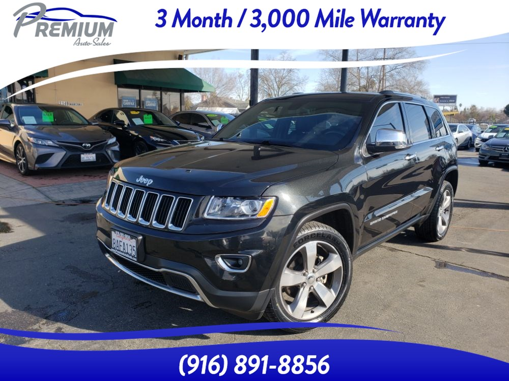 2014 Jeep Grand Cherokee Limited - 4WD- NAVIGATION-BACKUP CAM-FULLY LOADED