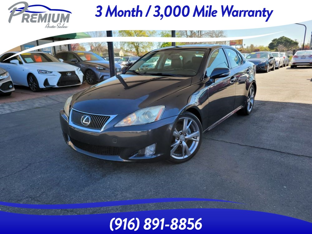 2010 Lexus IS 250 BACKUP CAM-NAVI-LEATHER SEATS-SUNROOF-FULLY LOADED