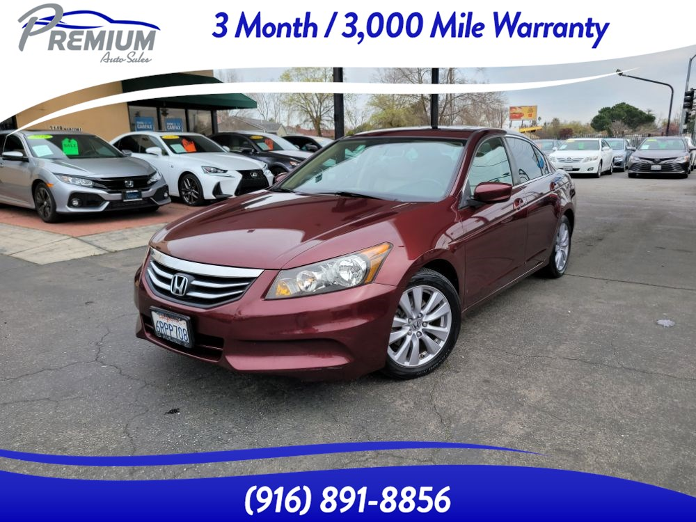 2011 Honda Accord Sdn EX-L-LEATHER SEATS-SUNROOF-BLUETOOTH-HEATED SEATS