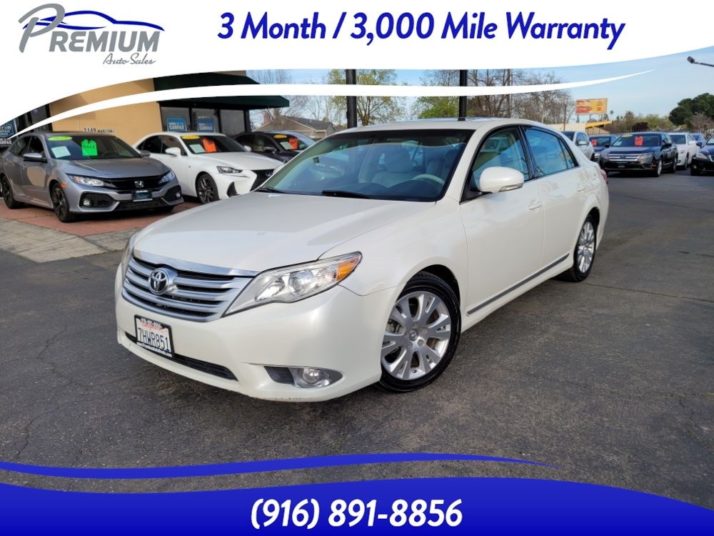 2011 Toyota Avalon NAVI-BACKUP CAM-SUNROOF-FULLY LOADED