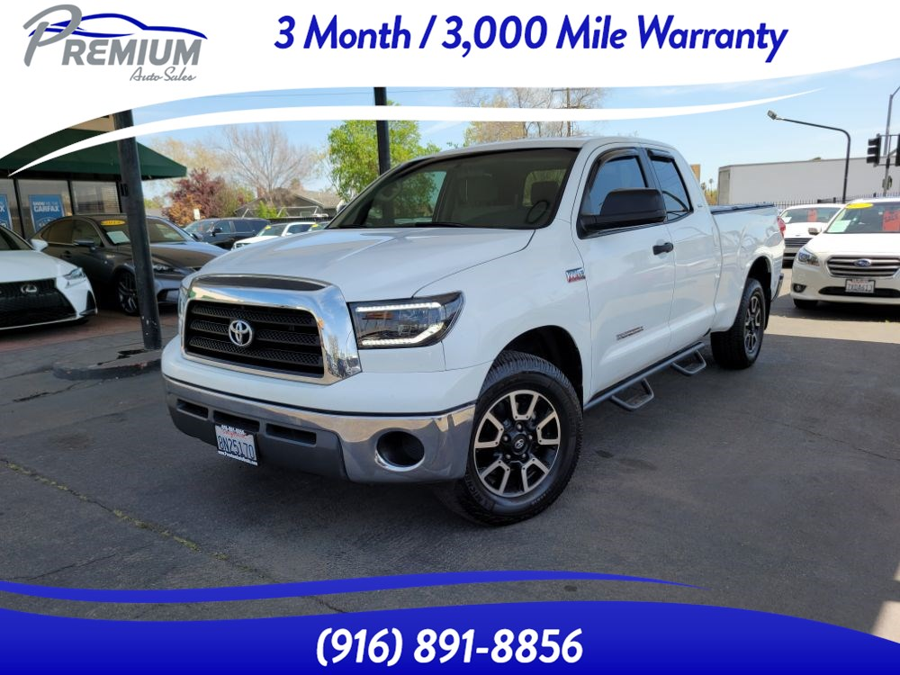 2007 Toyota Tundra SR5-2WD-DOUBLE CAB-BACKUP CAM-BLUETOOTH-TOW PACK