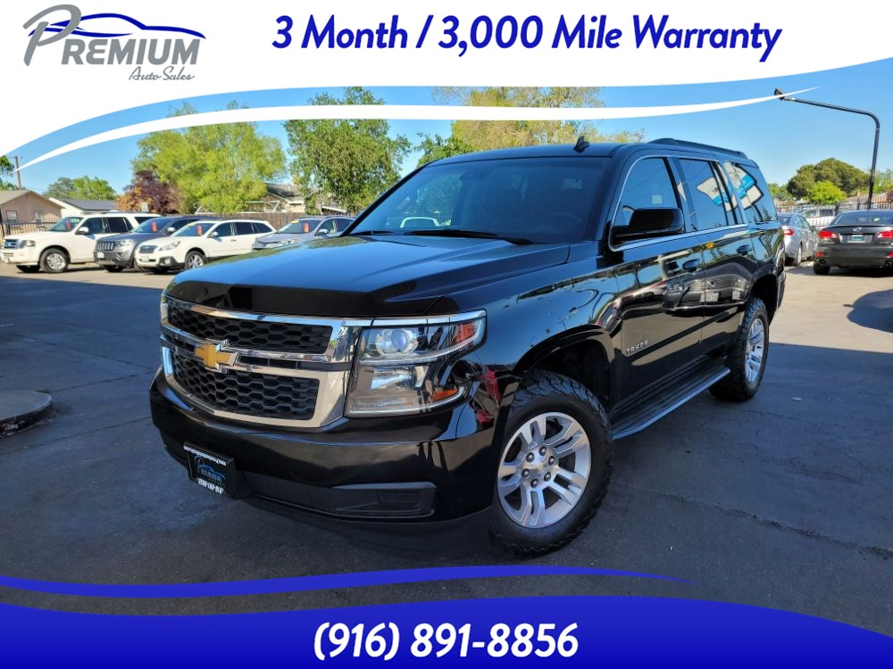2015 Chevrolet Tahoe LT-4WD-NAVI-BACKUP CAM-3RD ROW-LEATHER SEATS