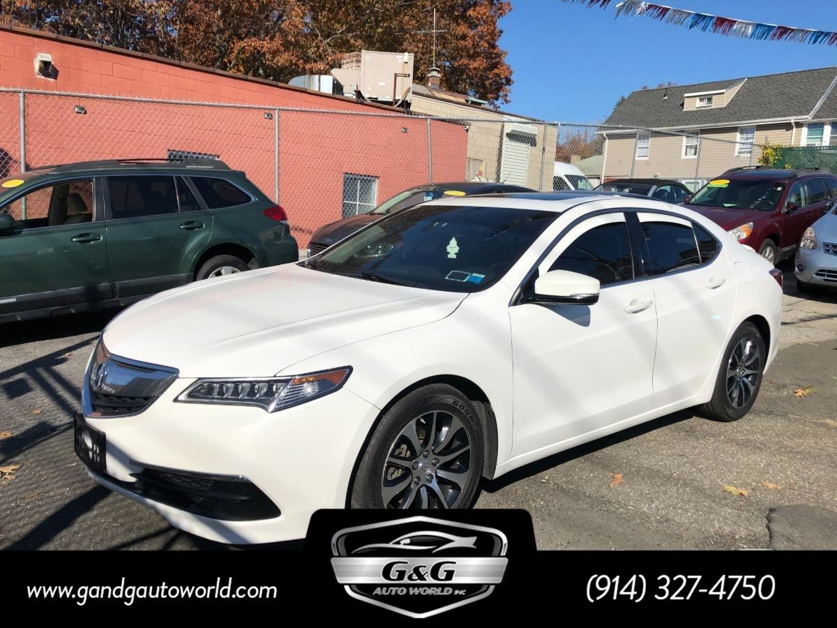 Sold 2015 Acura Tlx In Yonkers