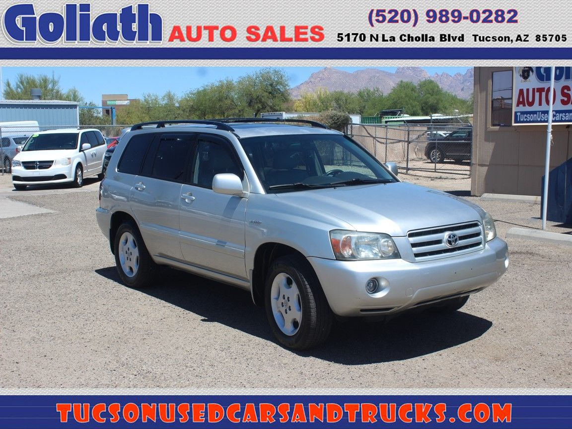 2006 Toyota Highlander Limited w/3rd Row