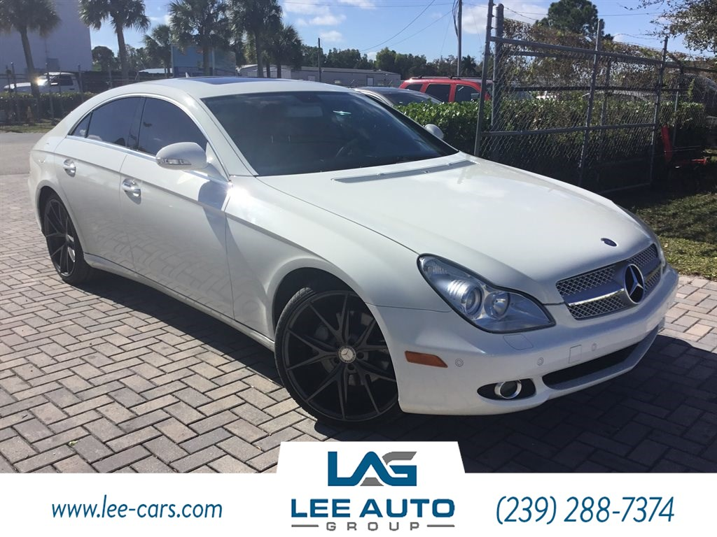 2008 Mercedes-Benz CLS550 Coupe
