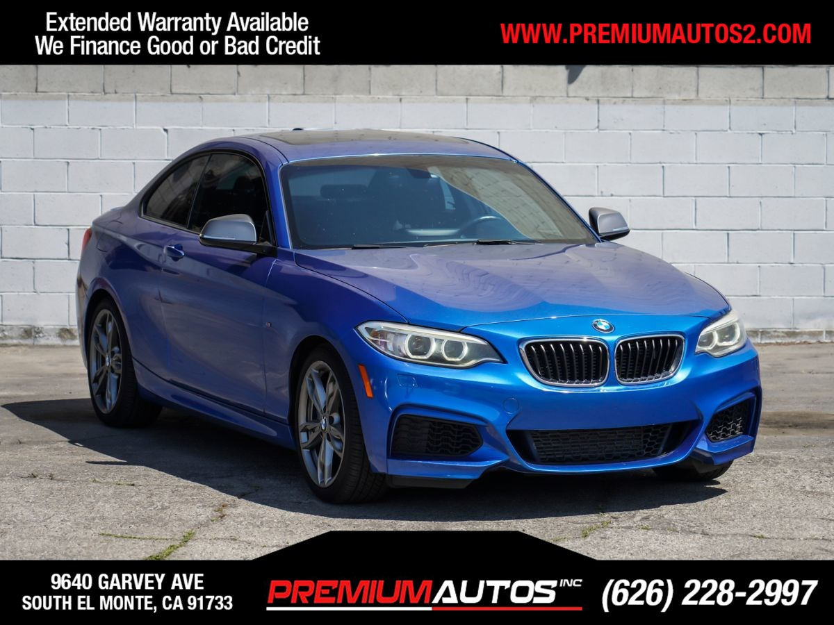 2014 BMW 2 Series M235i 	Estoril Blue