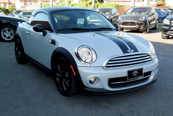 Sold 2013 Mini Cooper Coupe In Montclair