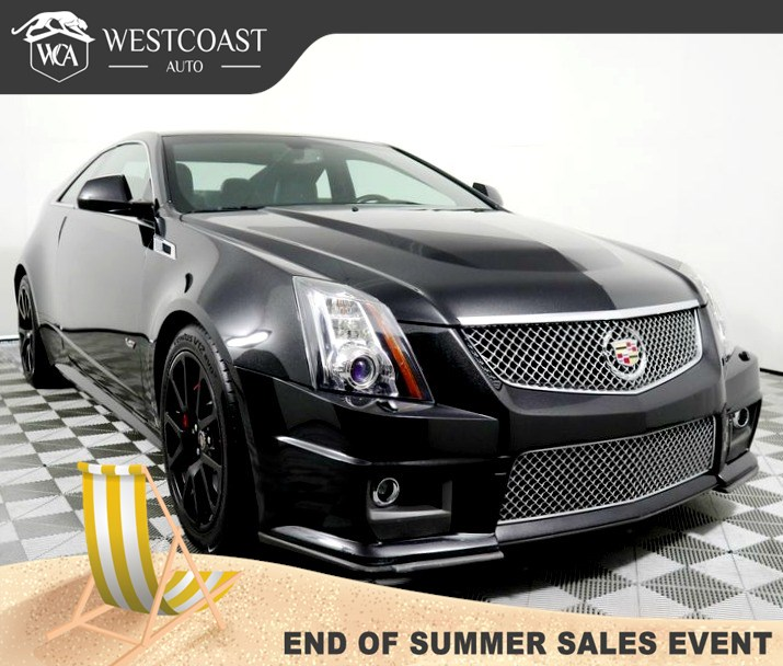 Sold 2014 Cadillac Cts V Coupe In Montclair