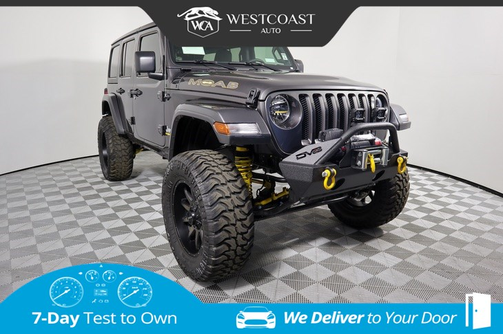 2019 Jeep Wrangler Unlimited Sport S MOAB Edition