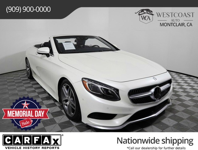 2017 Mercedes-Benz S 550 S 550 Cabriolet