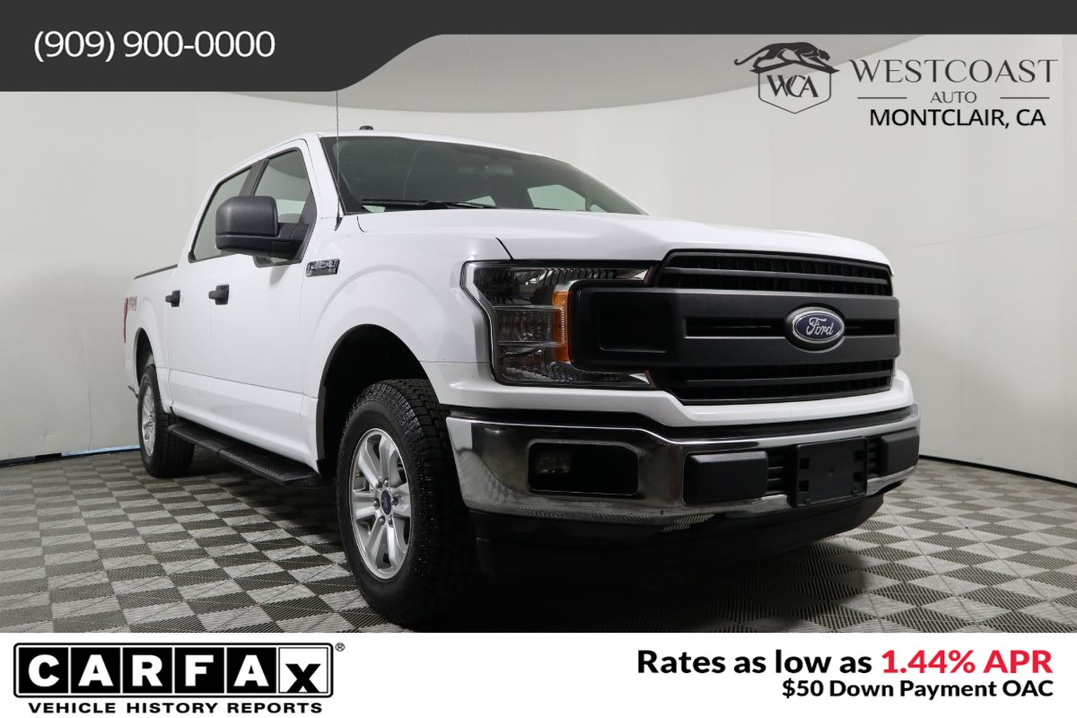 2018 Ford F-150 XL Super Crew FX4 5.0L V8