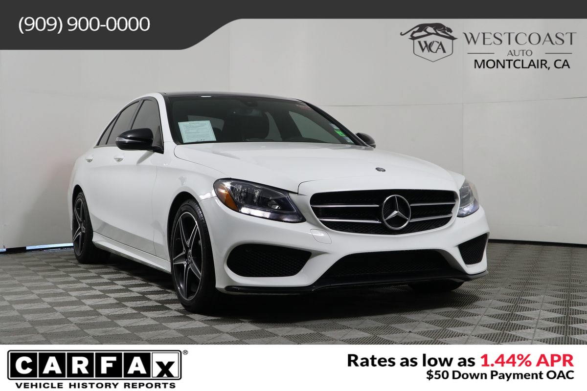 2017 Mercedes-Benz C-Class C 300 w/AMG Styling Package
